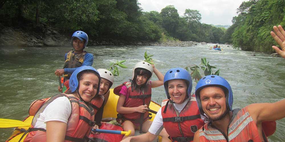 River Rafting on the Chiriquí Viejo -655