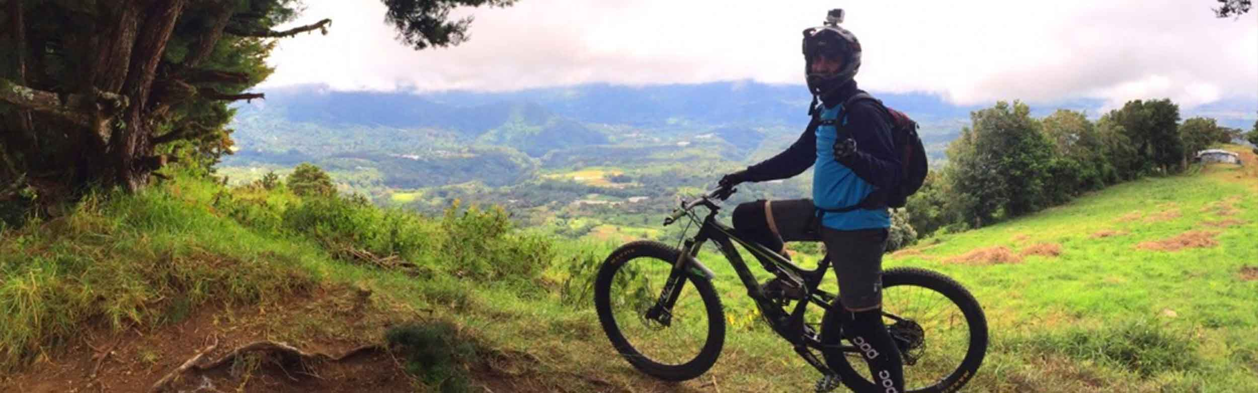 Biking from the Mountains to the Coast