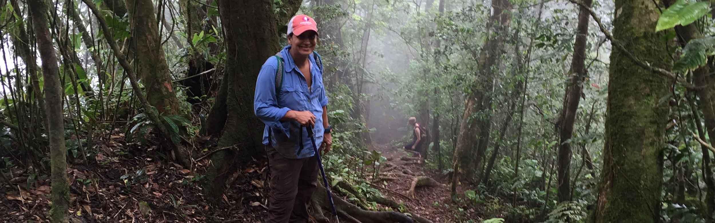 Hiking Campana National Park