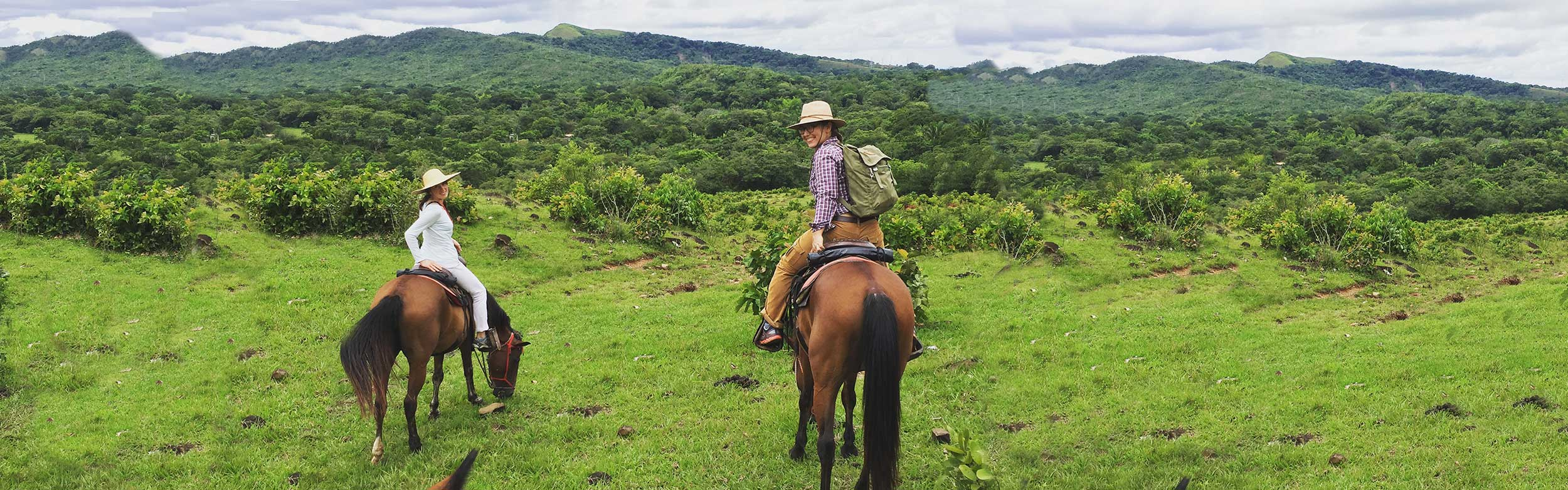 Horseback Riding in the mountains of Chiriqui