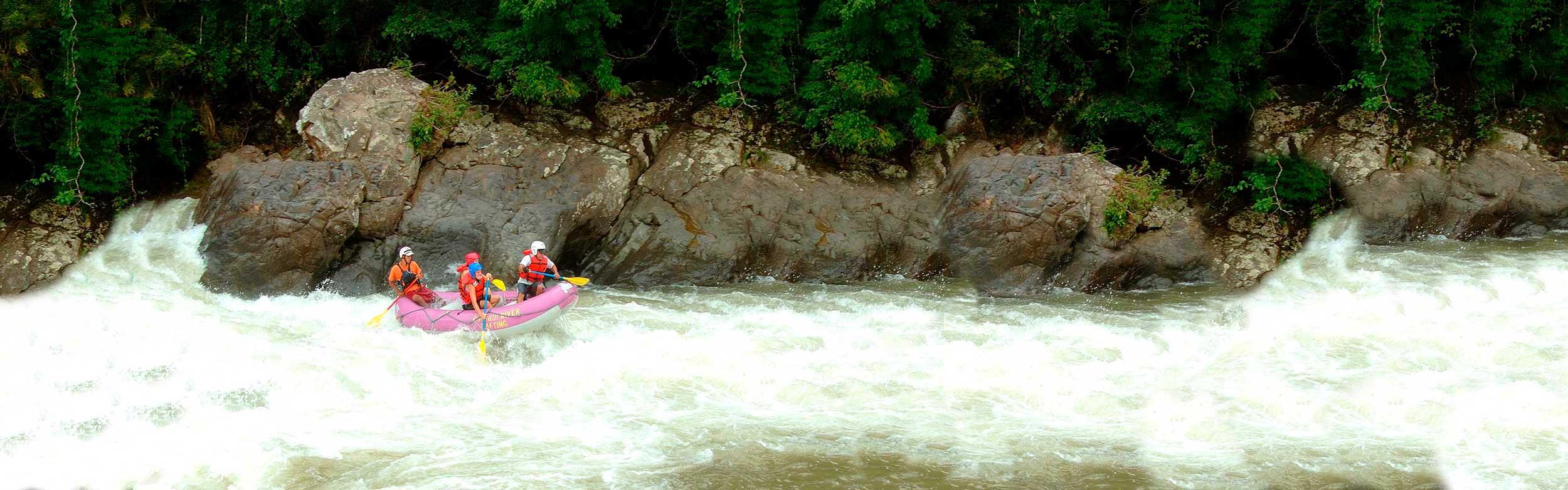 River Rafting in the Chiriqui Viejo