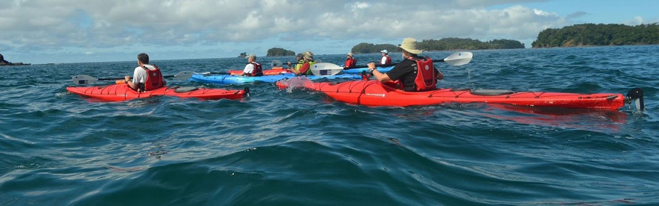 Sea Kayaking the Gulf of Chiriqui